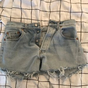 Levi's Recycled Denim Cutoff Shorts